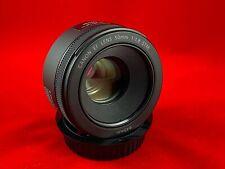 Canon EF 50mm f/1.8 STM Lens for Canon Digital SLR Cameras
