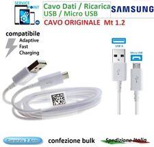 CAVO CAVETTO DATI USB /  MICRO USB ORIGINALE EP-DG925UWE PER SAMSUNG   1,2 Mt
