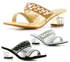 Unbranded Women's Low (0.5-1.5 in.) Peep Toes Heels