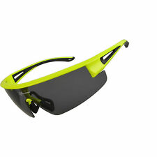 RockBros Polarized Riding Bike Glasses Eyewear Goggles Sunglasses UV400 Green