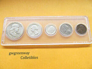 1953 Silver Birth year set 5 coins  (other years also) FREE SHIPPING