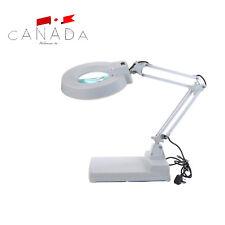 LED 10xIlluminated Magnifying Lamp Facial Medical Beauty Magnifier Desktop Light