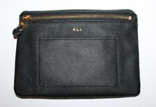 Ralph Lauren Black Winston Belt Bag Fanny Pack