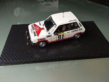 NEW AST 1 43 PEUGEOT 104 ZS N° 91 Rallye WRC monte carlo 1982 montecarlo