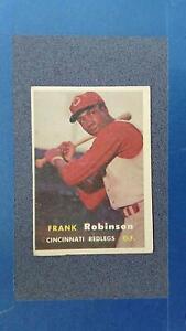 1957 Topps #35 FRANK ROBINSON RC Cincinnati Reds VG crease free ~JY13