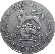 More details for 1911 to 1919 george v silver shilling choice of year / date