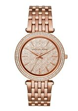 Michael Kors Darci Rose Gold Glitz Stainless Steel 39mm Women's Watch MK3399