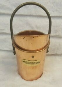 Solid Copper Brush Holder - Make up Pen Pencil Tooth Brush