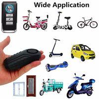 Motorbike Bike 113dB Wireless Alarm Lock Motion Sensor Security Siren Anti Theft