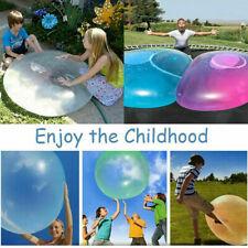 Große Wubble Bubble Wasserballons Wasserspielzeug Aufblasbarer Riesenball 120cm