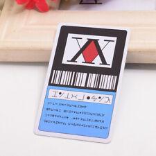 1PC Anime Hunter x Hunter 1 Star Hunter License Card Gon Freecss Cosplay Card