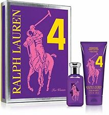 BIG PONY PURPLE 4 By RALPH LAUREN EAU DE TOILETTE SPRAY 50ML + BODY LOTION 200ML