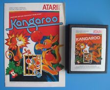 Kangaroo Atari 2600 Game with Manual *Cleaned & Tested*