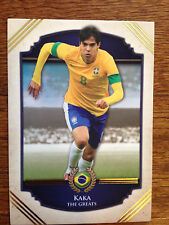 2014 Futera Greats Unique Soccer Card- Brazil KAKA Mint