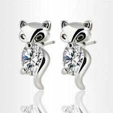Crystal Silver Plated Cubic Zirconia Fashion Earrings