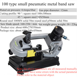 Small electric household sawing machine desktop metal cutting band saw machine