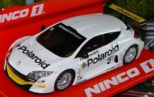Ninco 55010 Renault Megane Trophy Polaroid Slot Car 1/32