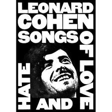 Leonard Cohen Songs of Love and Hate POSTER 59.5x84cm NEW