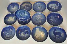 Lot of 13 B & G Bing & Grondahl Mors Dag Mothers Day Plates Copenhagen Porcelain