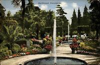 Bad Pyrmont Niedersachsen Weserbergland ~1910 Palmengarten Garten Park Pflanzen
