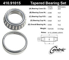 Wheel Bearing and Race Set-C-TEK Standard Bearings Rear Inner Centric 410.91015E