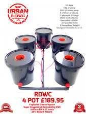 Urban 30L XL 4 Pot R- Deep Water Culture System Hydroponics Bubbler alien IWS