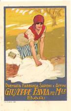 BARI - GIUSEPPE FAVIA - Premiata Fabbrica Saponi e Affini....ill. CORBELLA