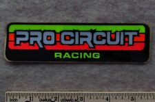 PRO CIRCUIT RACING Vintage Motocross STICKER Decal Honda Suzuki Kawasaki Yamaha