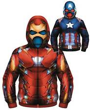 MARVEL IDENTITY CRISIS REVERSIBLE COSTUME HOODIE LARGE BRAND NEW #smay17-59
