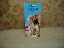 SEAWORLD ADVENTURE PARK FLORIDA INFORMATION GUIDE THEME PARK 1999 NEW BOOKLET