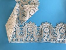 Antique Vintage Unusual Bobbin Lace 102inch Length