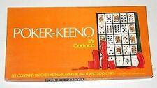 Poker-Keeno Game by Cadaco new in original packaging 1977 Vintage