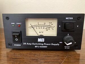 MFJ-4230MV - 30 AMP Switching Power Supply w/ Meter, Adjustable 4-16 VDC output