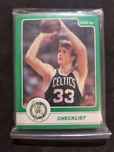 1984 Star LARRY BIRD factory sealed complete set of 18 cards