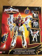 Power Rangers Mystic Force DX Megazord Centaurus Steedergon Fury NEW SUPER RARE