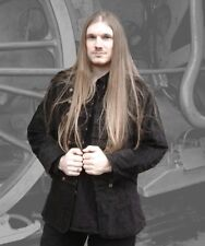Gothic Steampunk Military Uniform Jacke schwarz hüftlang 46 48 50 52 54 Neu