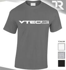 NEW HONDA CIVIC VTEC T SHIRT JDM CAR TOP FAN ENTHUSIAST TURBO RACE GIFT SPORTS