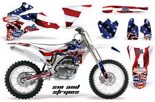 AMR Racing Yamaha YZ 250F/450F Graphic Kit Bike Decals MX Parts 06-13 USA SIN