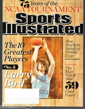 2013 Sports Illustrated Boston Celtics Larry Bird Subscription Issue Nr/Mint