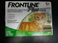 New listing Frontline Plus Flea and Tick Control for Cats and Kittens, 6 Doses