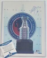 PAUL COFFEY SIGNED BECKETT BAS COA AUTOGRAPHED NHL HOCKEY OILERS PENGUINS WINGS