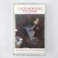 Good Morning Vietnam Soundtrack Cassette 1988 A&M Records