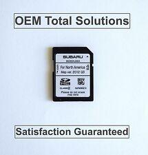 2013-2014 Subaru Outback OEM Harman Navigation OEM SD Card Map #AJ66A US Canada