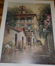 Morning in Tuscany by L. Gordon Limited Edition, 22x30, 1997 Somerset