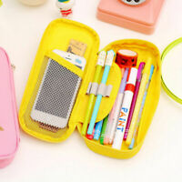 New School Capacity Pen Cosmetic Cute Bag Stationery Pencil Large Box Case