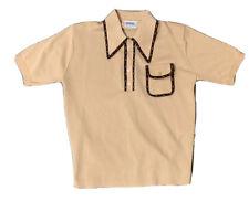 New listing Vtg 60's Spiegel Men's Bowling Disco Front Pocket Polo Shirt Size Medium