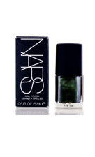 NARS/NIGHT SERIES NIGHT PORTER NAIL POLISH 0.5 OZ (15 ML) BLACK W/ GREEN PEARLS