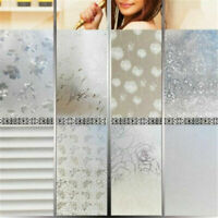 45*200CM Waterproof Frosted Cover Bedroom Bathroom Window Sticker Glass Film Hot