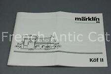 Ho Marklin train notice technique locomotive köf II U823