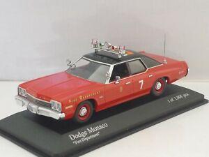 "Minichamps - Dodge Monaco de 1974 - ""Fire Departement"""